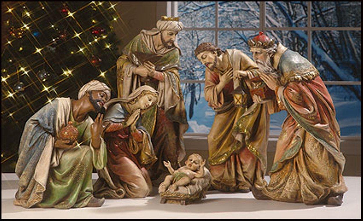 Large Nativity Sets