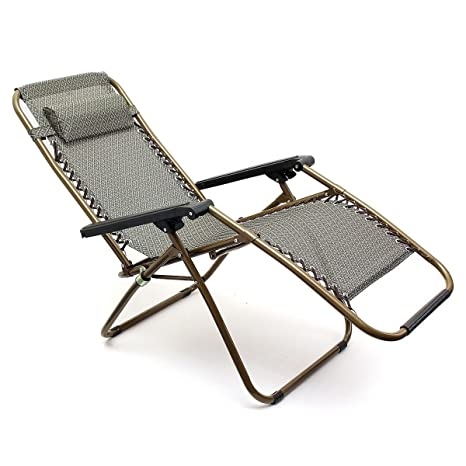 Generic NV 1001005765 _ _ _ _ _ _ _ _ yc-uk2 chairecl Chaise longue de jardin oldin 2 x New Gravité Gard inclinable Fauteuil relax inclinable pliable Unger soleil INER Chaise accoudoir 2 x New