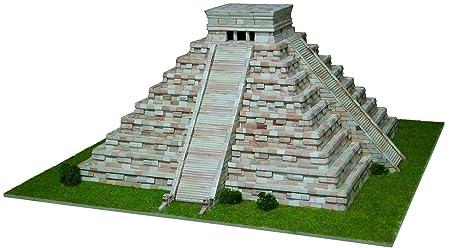 Maquette en céramique - Pyramide de Kukulcan, Mexique