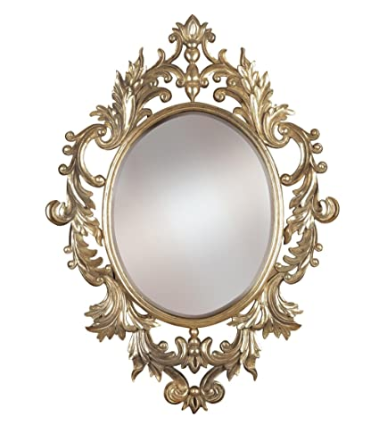 oval antique mirror images