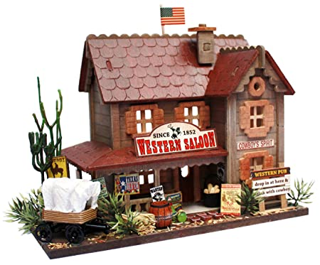 Kit de maison de poup?e Billy main collection Woody Western House Pub 8819 (japon importation)