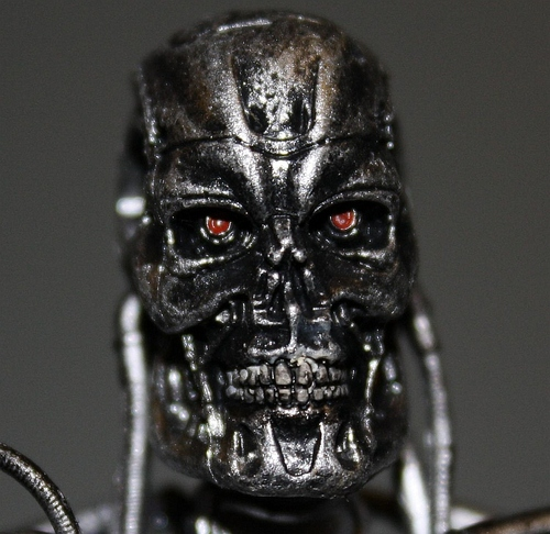 Amazon.com: Terminator Series 1 Action Figure T800 Endoskeleton The