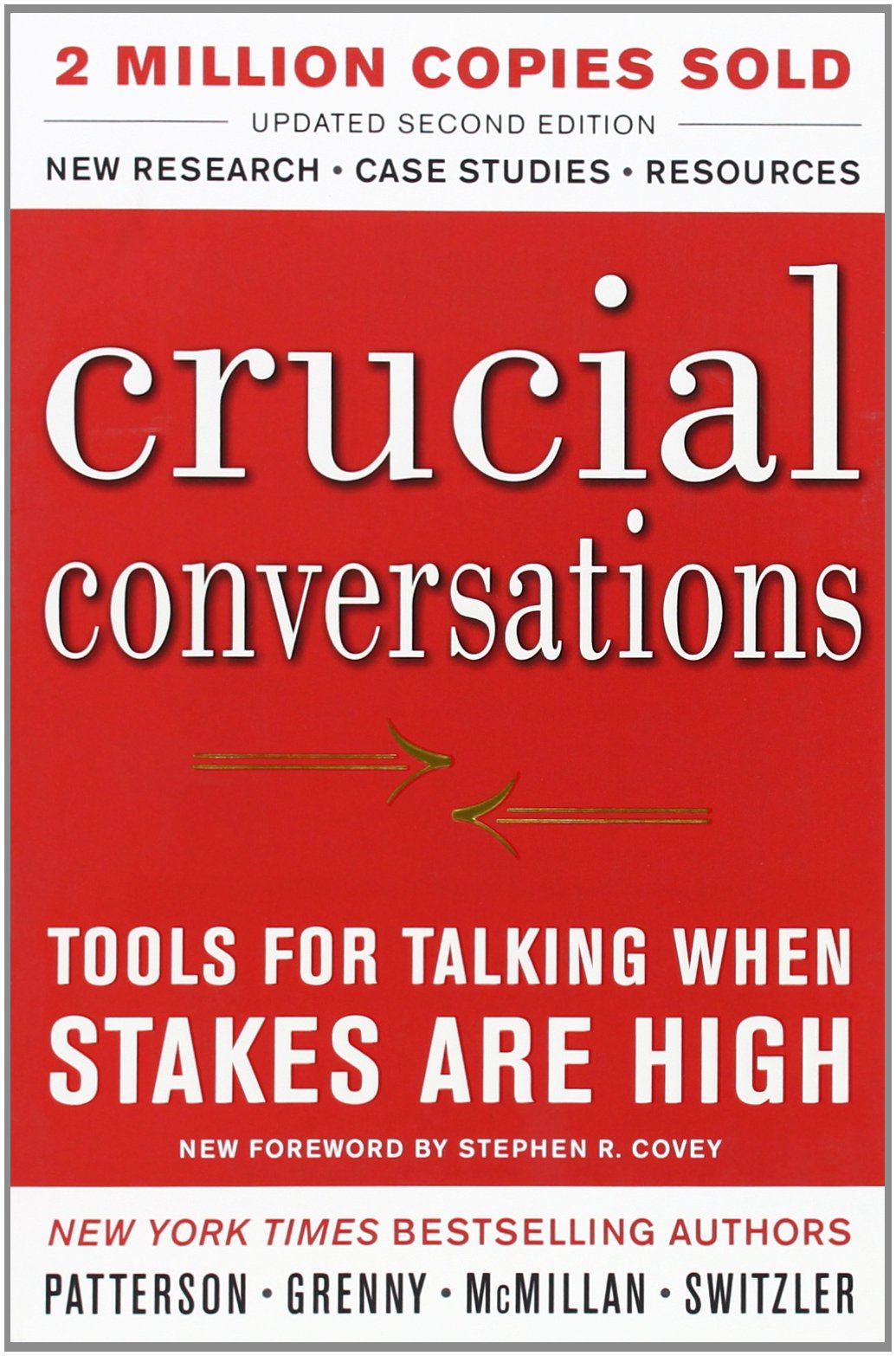 Crucial Conversations - Tools for Talking When Stakes Are High