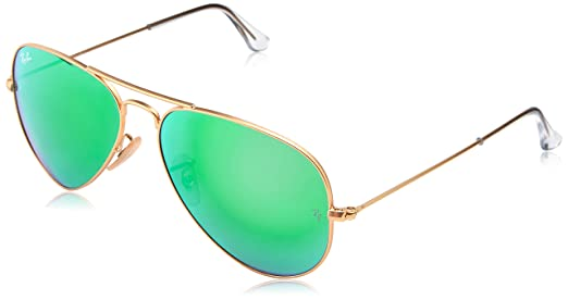 ray ban aviator matte gold  Ray-Ban Aviator Sunglasses (Matte Gold) (RB3025