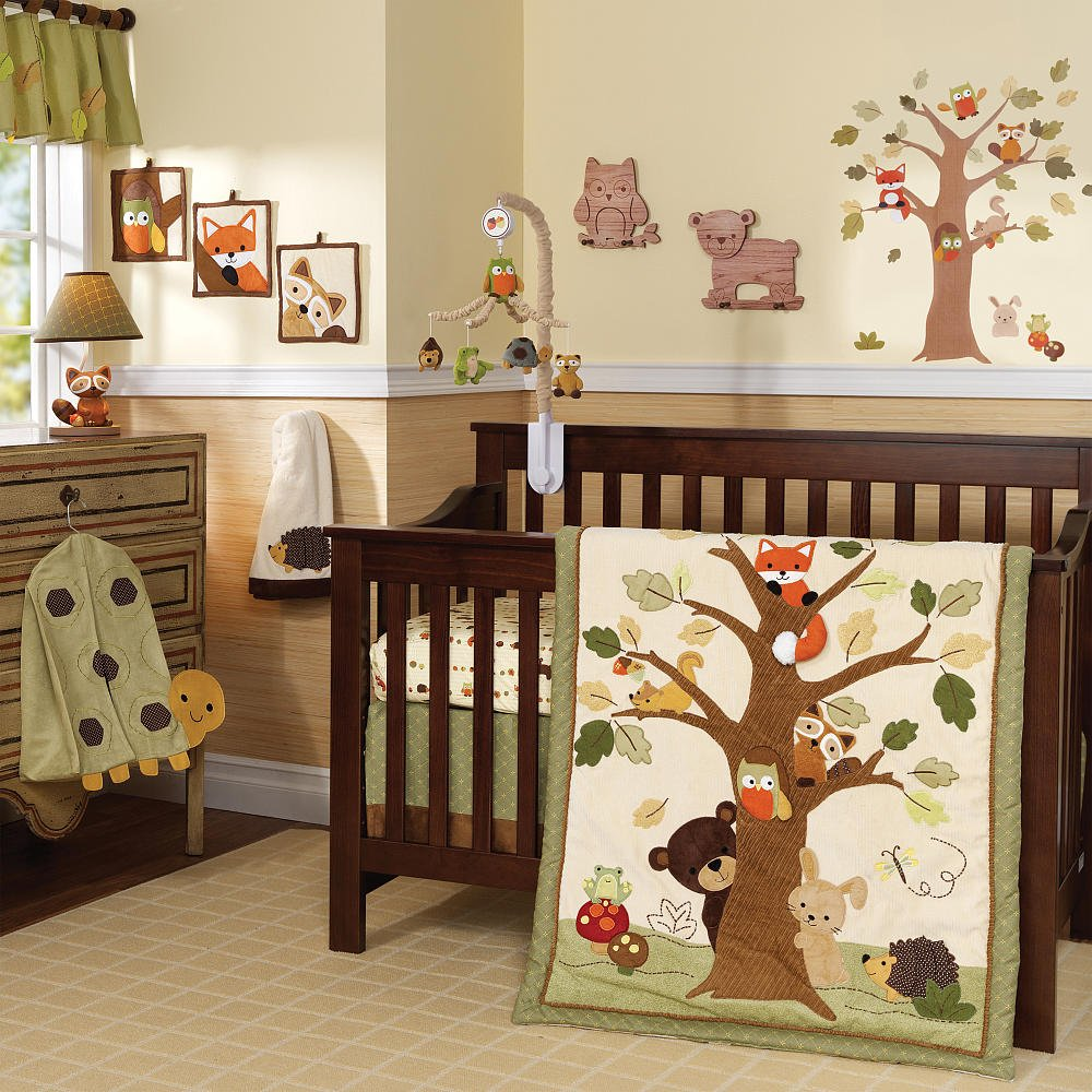 Lambs and Ivy Echo Crib Bedding