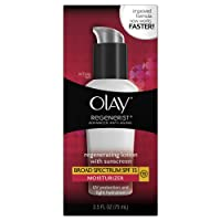 Olay Regenerist Regenerating Lotion With Sunscreen Broad Spectrum SPF 15, 2.5 fl. Oz.