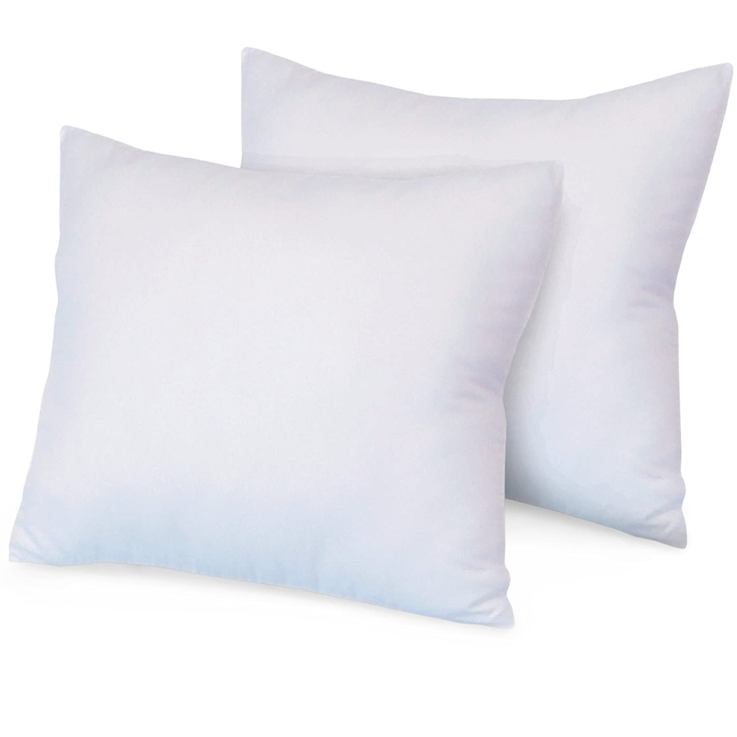 Nature S Rest Luxurious 28 By 28 Inch Euro Square Pillows
