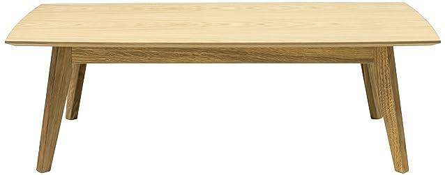 Tenzo 2189-554 Bess Designer tavolino da salotto, 38 x 120 x 60 cm, in legno di quercia impiallacciato