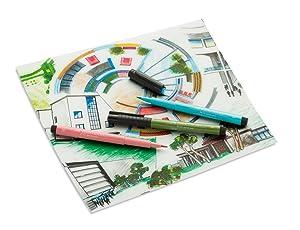 Faber-Castell Pitt Artist Pens Wood Case Gift Set - 90 Pens (Color: Multi)