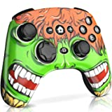 BEBONCOOL Wireless Controller for Nintendo Switch Pro Controller PXN Remote Gamepad Compatible Bluetooth Black Green Cover (Color: Green, Tamaño: Wireless Controller)