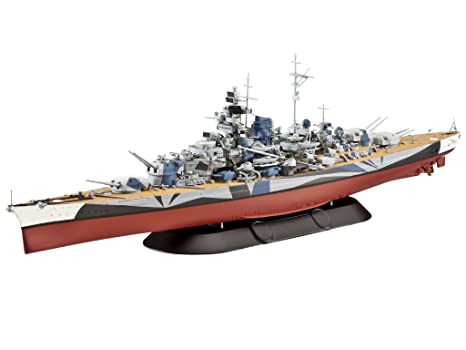 Revell - 5099 - Maquette Classique à Peindre et à Coller - Battleship Tirpitz