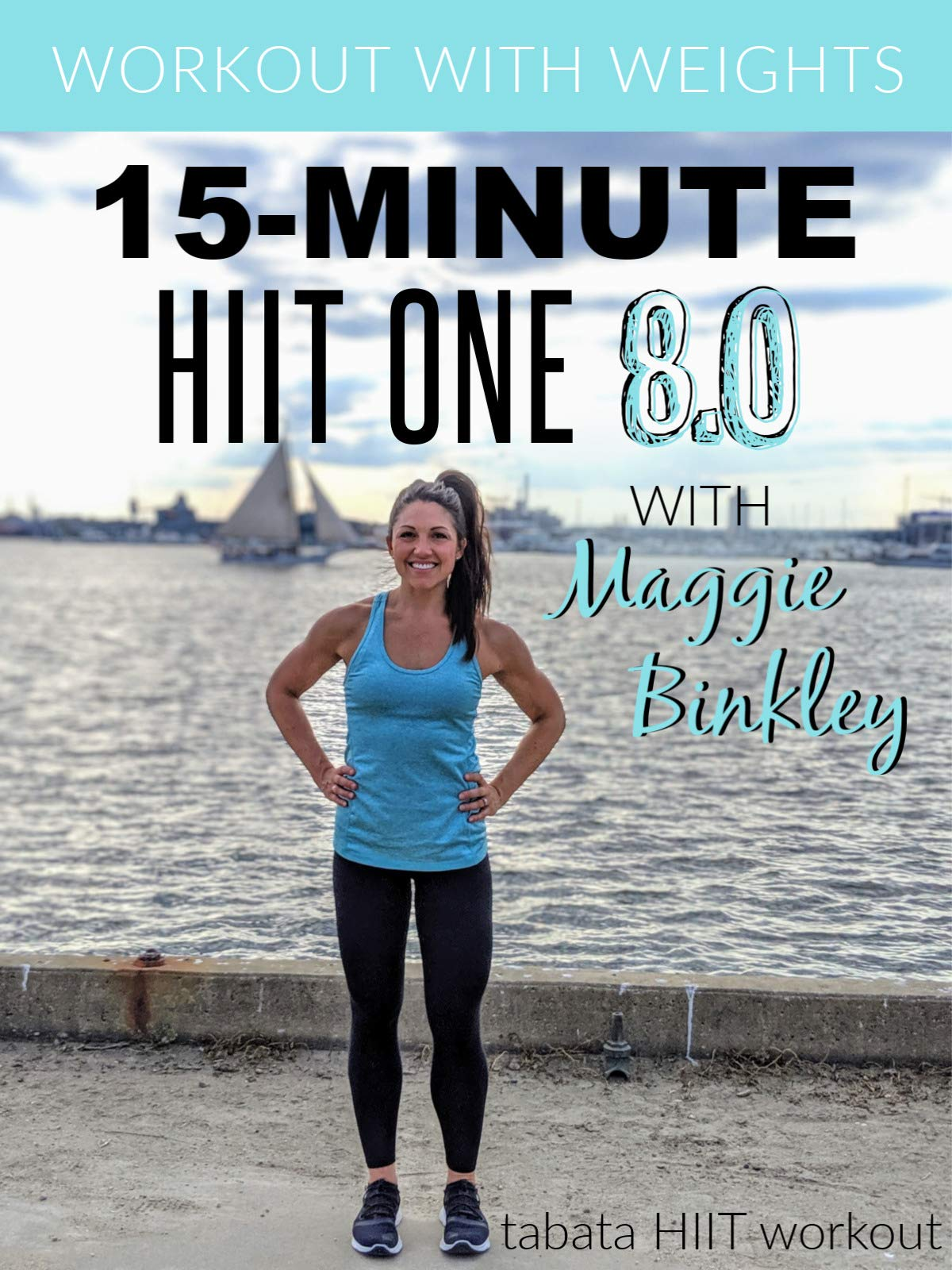15-Minute HIIT One 8.0 (tabata workout with weights)