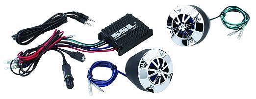 Amp External Speaker Motorcycle Amp/speaker Kit