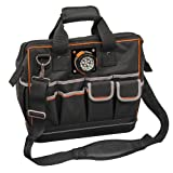 Tool Bag with Padded Shoulder Strap and Handles Has Lighted Tool Storage with 31 Pockets Klein Tools 55431 (Color: Lighted Tool Bag)