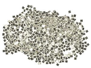 uGems 750-1mm Silver Solder Precut Chips Extra-Hard Density (Tamaño: 1mm)