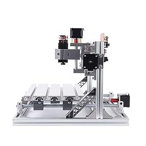 GBRL 3018 CNC Laser Machine Kit, 3 Axis GRBL Control USB Port DIY Mini Carving Milling Machine Working Area 30x18x4.5cm