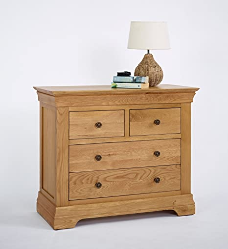 Bordeaux Oak 2+2 Chest of Drawers