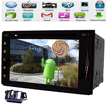 Accesorios Android HD capacitiva Mulit Bluetooth pantalla tš¢ctil de 7 '' del coche Non DVD GPS Bluetooth Radio Navegaciš®n Jugador 2 din coche FM / AM RDS estšŠreo WiFi Bluetooth iPod Cubierta Cš¢mara Subw