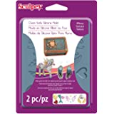 Sculpey APM-66 Flexible Push Mold-Whimsy (Color: Whimsy)