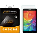 Supershieldz for Samsung Galaxy Tab 4 8.0 8 inch Tempered Glass Screen Protector, Anti-Scratch, Anti-Fingerprint, Bubble Free, Lifetime Replacement (Color: Tempered Glass, Tamaño: 8 Inches)