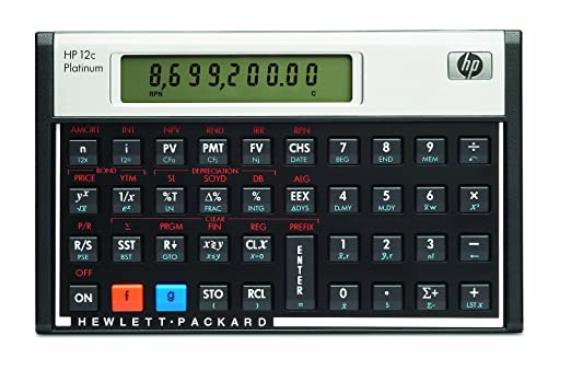 12c Platinum Financial Calc**New Retail** at amazon
