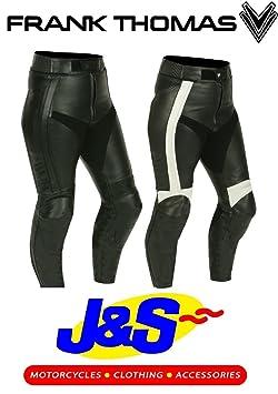 Frank Thomas ftl313Vénus Mesdames de jeans pour femme moto moto en cuir pour femme j & S