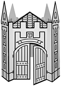 KREUL Château de chevalier Villa Carton JOYPAC, en carton