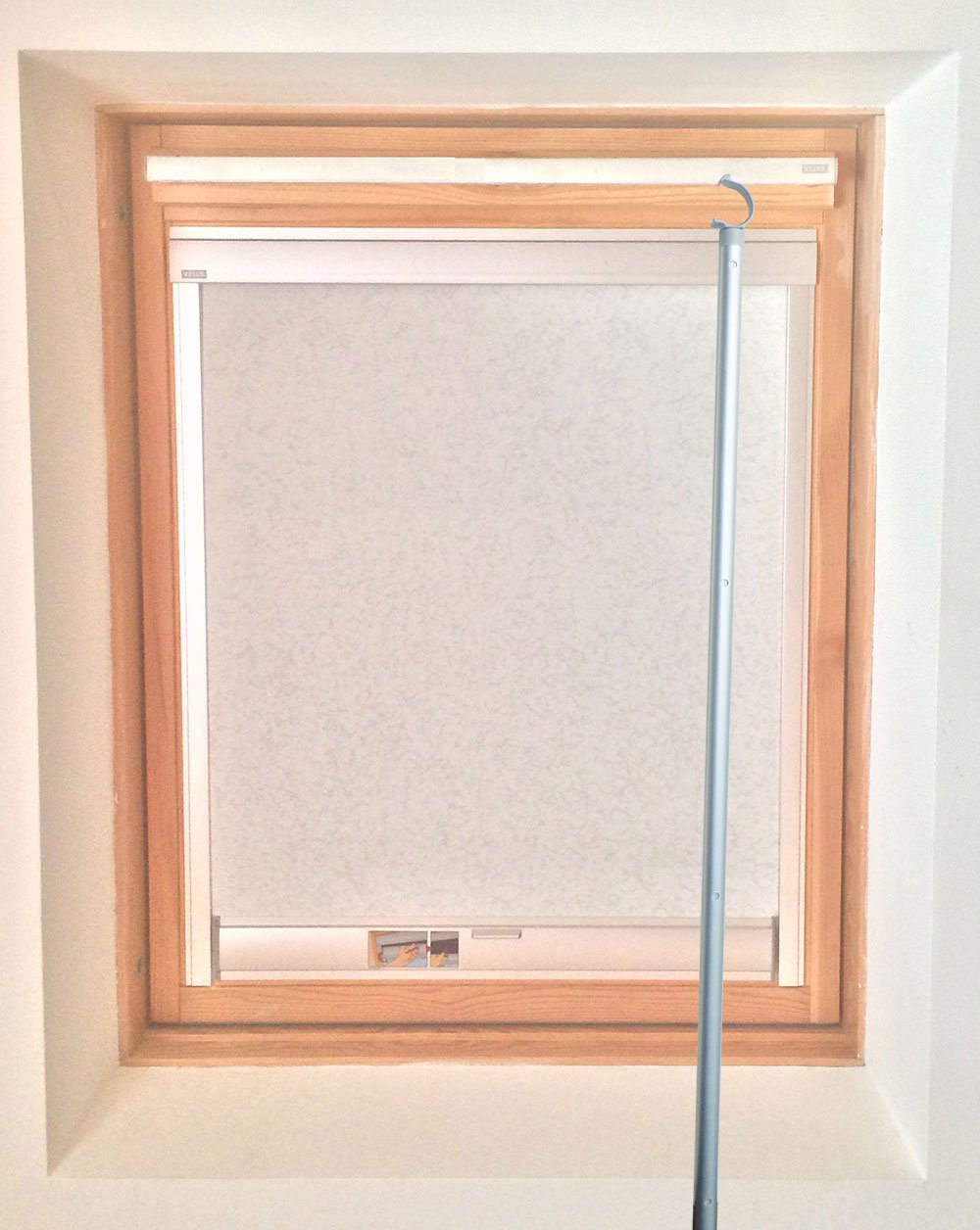 1 8m telescopic window rod pole designed for velux sky for Velux customer support