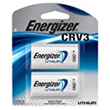 Energizer CRV3 Lithium Photo Batteries, 2-Pack (Color: ABYSS BLUE, Tamaño: 3 Volt)