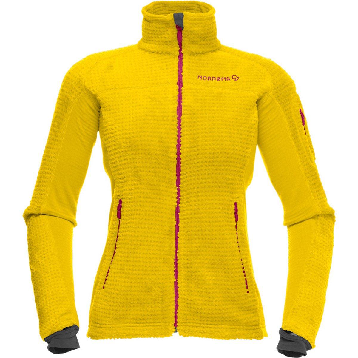 Norrona Lofoten High Loft Jacket Women Yellow Saffron / M günstig online kaufen