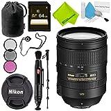 Nikon AF-S NIKKOR 28-300mm f/3.5-5.6G ED VR Lens Advanced Bundle (Color: 28-300MM VR, Tamaño: Advanced)