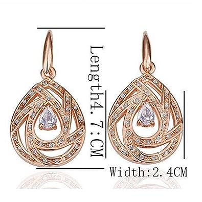 Sterling Silver 2.50 Ct TGW AIGUE-MARINE S Design Boucles d/'oreilles Créoles
