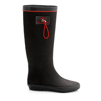 Redfoot Foldable Wellington Rubber Rain Boots Wellies