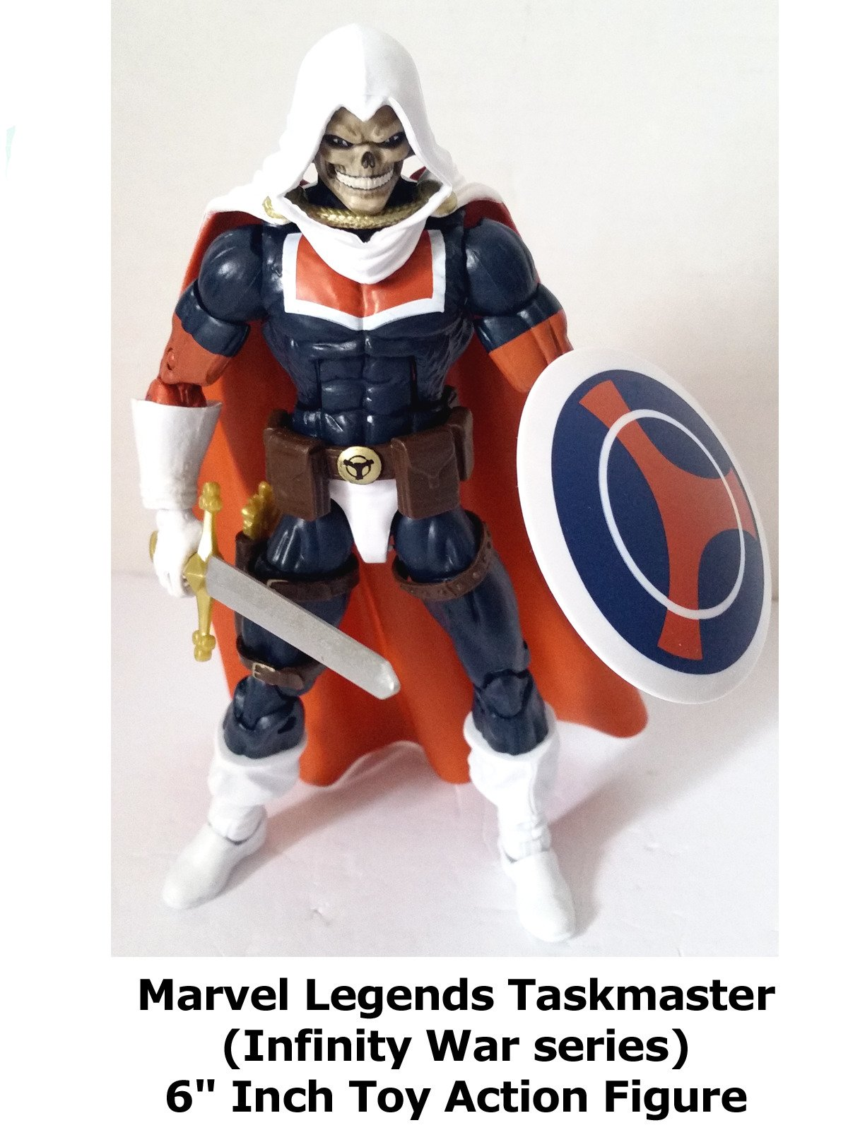 "Review: Marvel Legends Taskmaster (Infinity War series) 6"" Inch Toy Action Figure on Amazon Prime Instant Video UK"