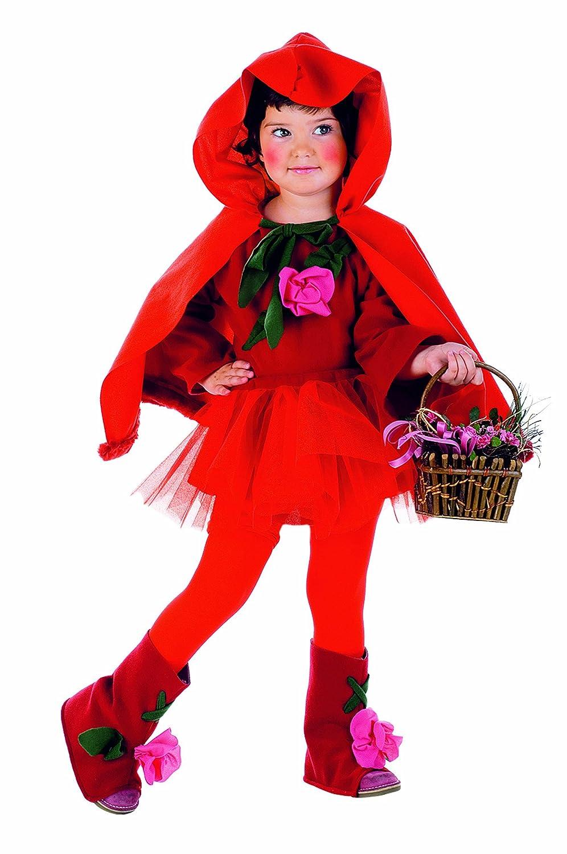 disfraz de caperucita roja para nia talla incluye falda vestido botas y capa