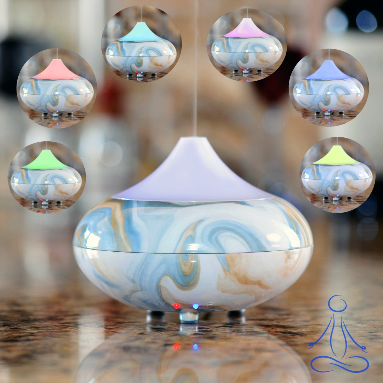 7 Color Led Light Aromatherapy Essential Oil Diffuser