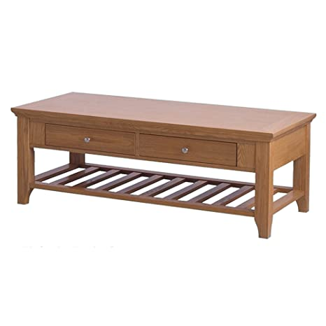 ORE International R9211 Fraser Coffee Table with 2 Drawers