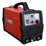 CTS-160, Combo 3-IN-1 DC Welder 30A-Plasma Cutter, 160A-TIG-Torch, 140A-Stick Welding New (Color: Red, Tamaño: Full Size)