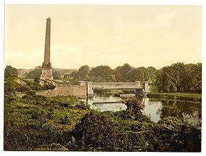 Boyne Obelisk alonmg River Boyne commemorating Battle of the Boyne.