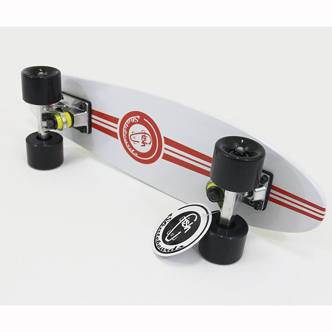 NEW White Fish Skateboard Wood Maple 22