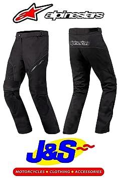 Alpinestars ast-12014Pantalon de moto Textile imperméable moto pour femme jeans noir J & S