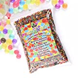 AINOLWAY 8oz Water Gel Beads Rainbow Mix Jelly Crystal Balls for Kids Tactile Toy and Planting Flowers DÃcor (Color: Multicolored, Tamaño: Standard Beads)