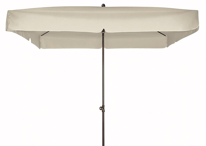 Doppler Gartenschirm Sun Line III 200×200 quadratisch mit UV-Schutz 50, Farbe taupe – greige online kaufen