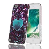 iPod Touch 7 Case,iPod Touch 6 Case,Shell Marble Design High Impact Silicone Anti-Scratch &Fingerprint Shock Proof Ultra Thin Non Slip Cover Protective Case for Apple iPod Touch 5/6/7th Generation (Color: pattern 12)