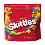 Skittles Original Candy Bag, 41 Oz (Pack of 2) (Tamaño: 41 Ounce (2 Count))