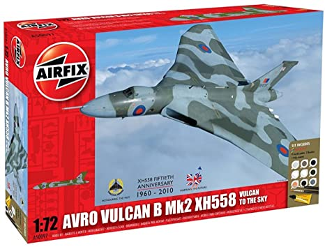 Airfix - A50097 - Maquette - Vulcan To The Sky - Gift Set