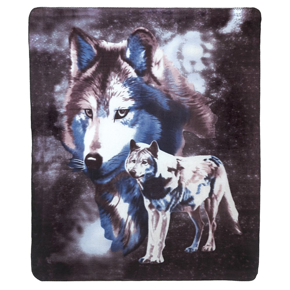 Gifts & Decor Wildlife Wolves Fleece Blanket