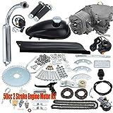 50CC 2 Stroke Motorised Bicycle Motorized Push Bike Petrol Gas Motor Engine Kit.