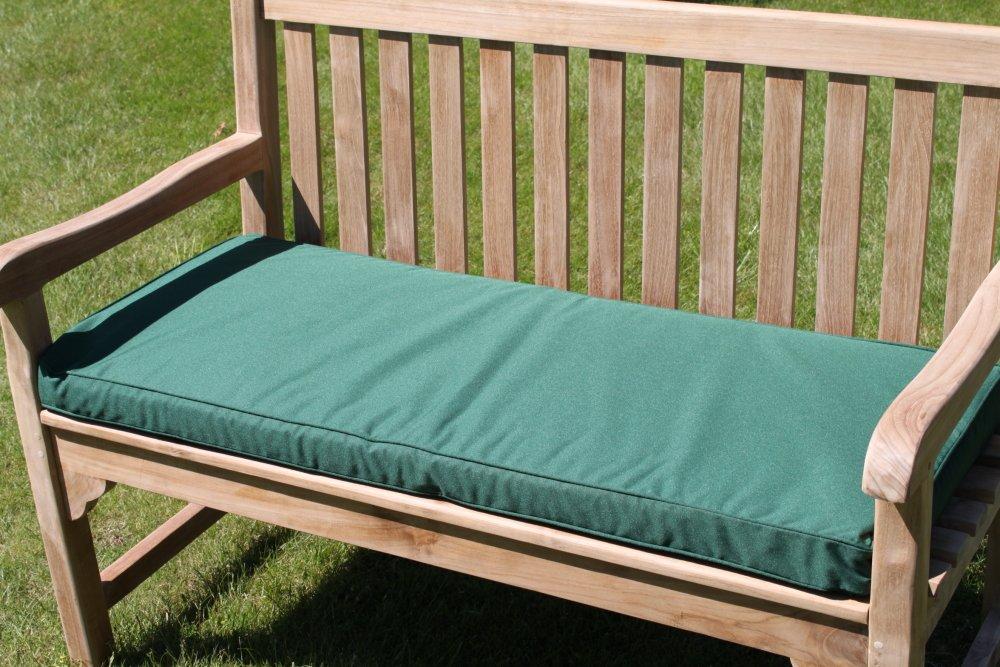 Gartenmöbel-Auflage – Auflage für 2-Sitzer-Gartenbank in Grün günstig kaufen