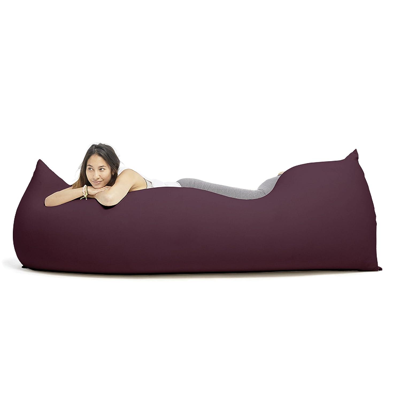 """""""Baloo"""", Multifunktionaler Therapie Sitzsack, Ergonomisch, 180x80x50 cm (Aubergine) jetzt kaufen"""